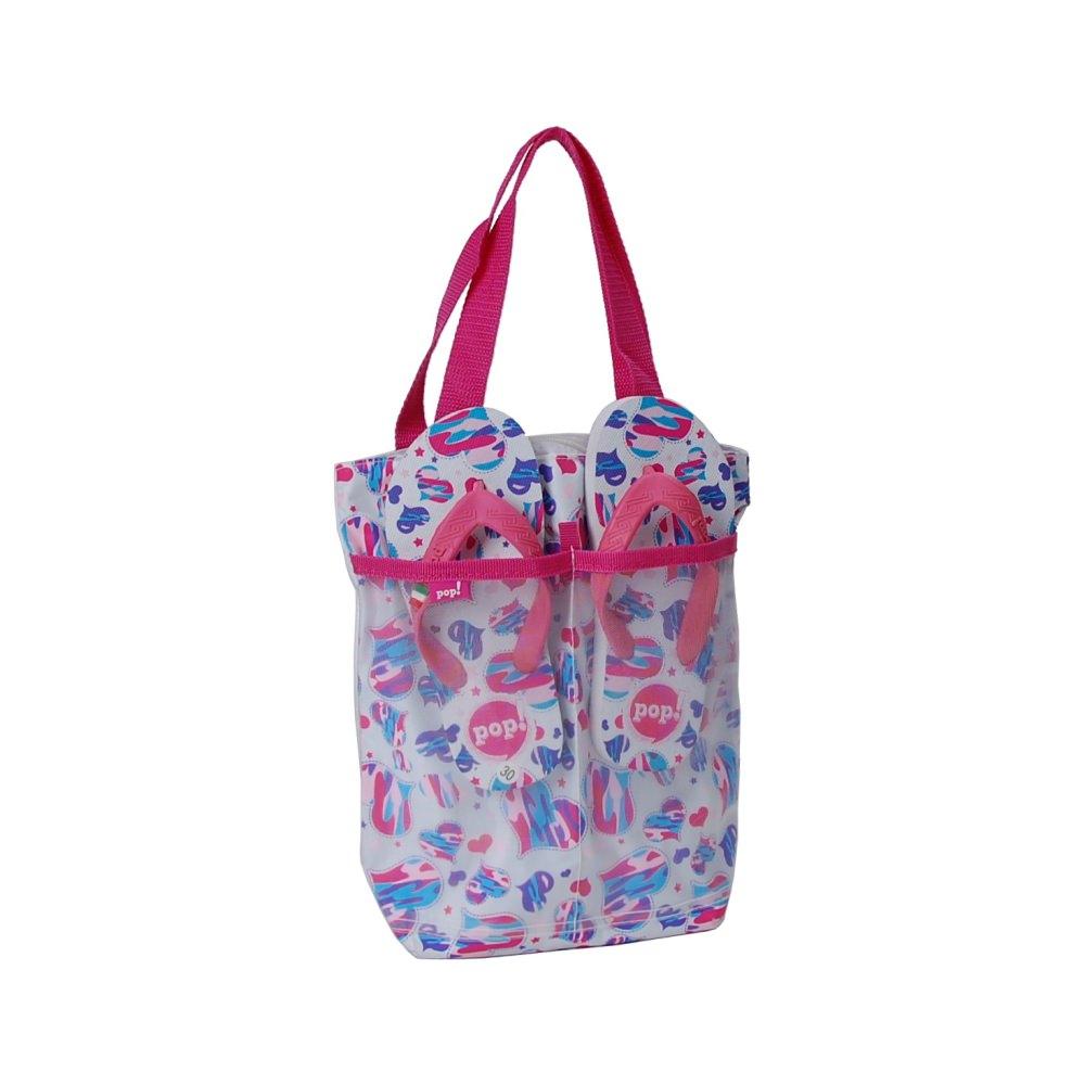 Dziecięca torba plażowa & klapki BB 7201